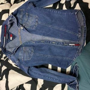 Gently used jean jacket